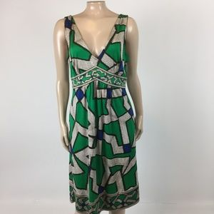 Diane Von Furstenberg Ophelia Dress 10 Silk C4